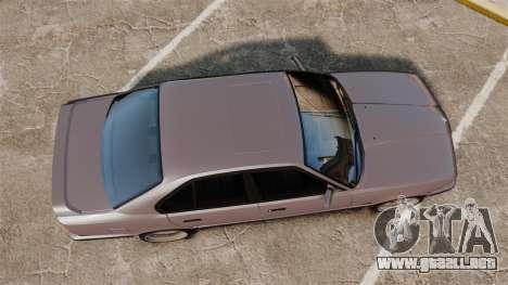 BMW M5 E34 para GTA 4 visión correcta