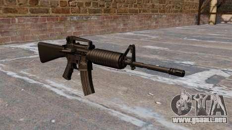 Automática Colt M4A1 carbine para GTA 4
