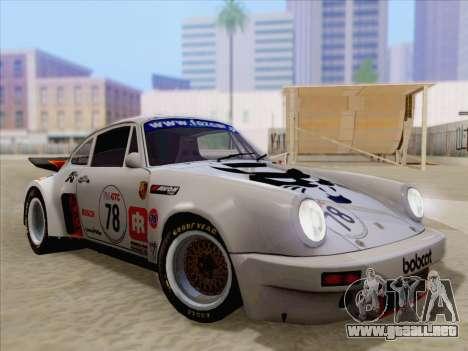 Porsche 911 RSR 3.3 skinpack 1 para el motor de GTA San Andreas