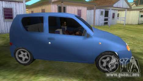 Fiat Seicento para GTA Vice City left