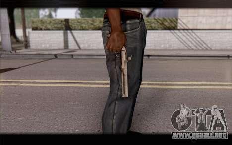 Pistola de pedernal-Lock para GTA San Andreas tercera pantalla
