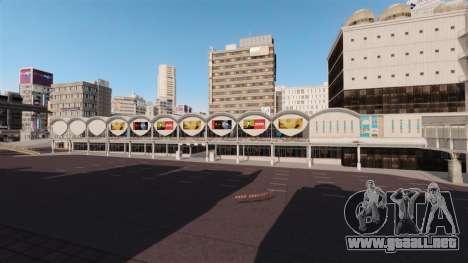 Ubicación de Shibuya para GTA 4 segundos de pantalla