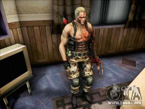 Jack Krauser para GTA San Andreas segunda pantalla