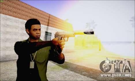 Lamar Davis GTA V para GTA San Andreas quinta pantalla