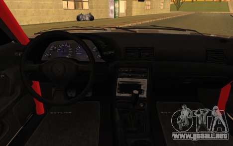 Nissan Skyline GTS Drift Spec para la visión correcta GTA San Andreas