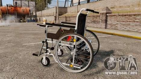 Funny Wheelchair para GTA 4 left