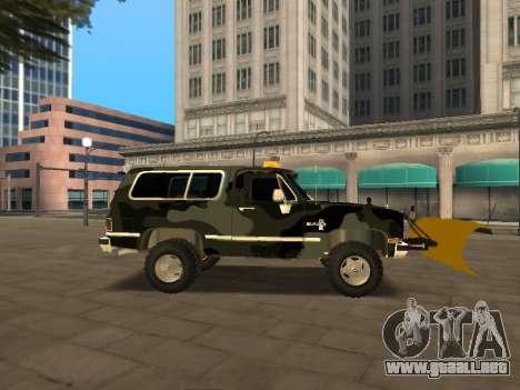 Chevrolet Blazer para la visión correcta GTA San Andreas