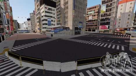 Ubicación de Shibuya para GTA 4 sexto de pantalla