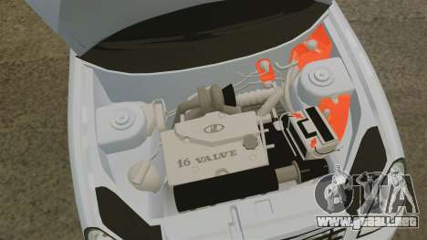Fórmula Vaz-2170 para GTA 4 vista interior