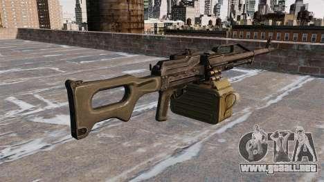 Ametralladora de propósito general 41 P 6 para GTA 4 segundos de pantalla