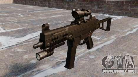 UMP45 subfusil ametrallador para GTA 4