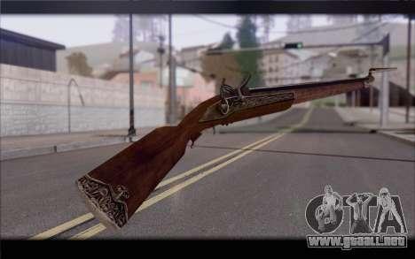 Mosquete para GTA San Andreas segunda pantalla