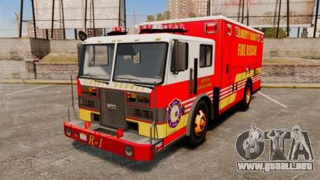 Hazmat Truck LCFR [ELS] para GTA 4