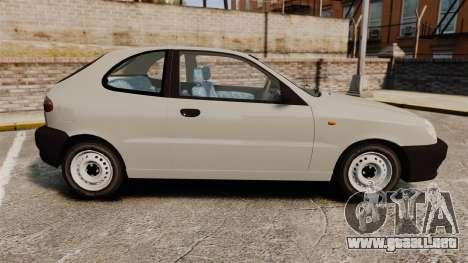Daewoo Lanos S PL 1997 para GTA 4 left