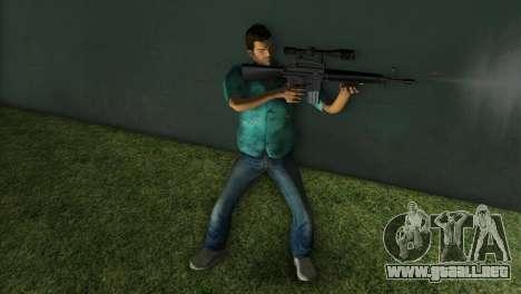 M-16 con un arma de francotirador para GTA Vice City