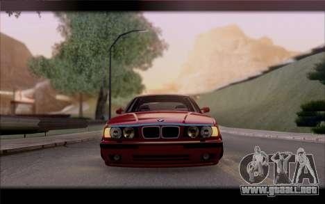 BMW E34 para visión interna GTA San Andreas