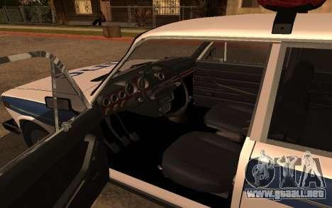 VAZ 2106 DPS para la visión correcta GTA San Andreas