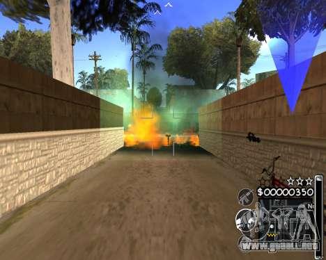 C-HUD by 6a6yuH para GTA San Andreas tercera pantalla