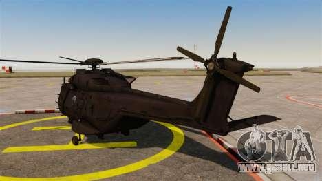 Eurocopter NHIndustries NH90 [EPM] para GTA 4 Vista posterior izquierda