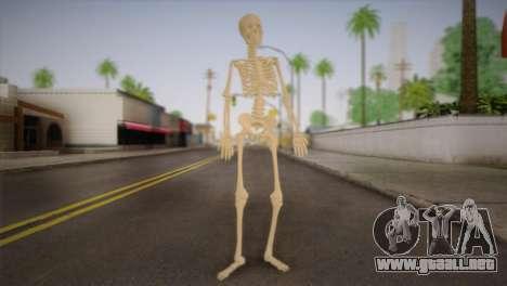 Esqueleto para GTA San Andreas