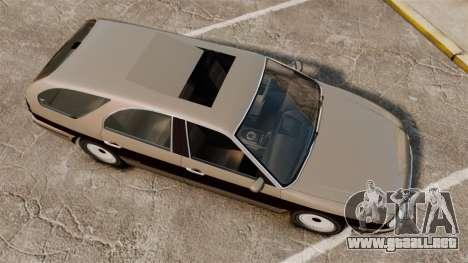 Solair 2000 Facelift para GTA 4 visión correcta