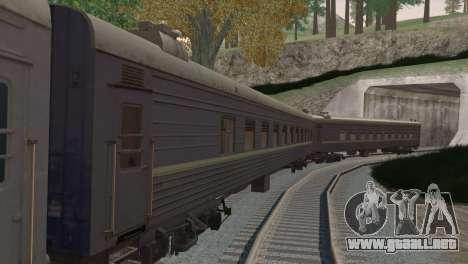 Coche de pasajeros para la visión correcta GTA San Andreas