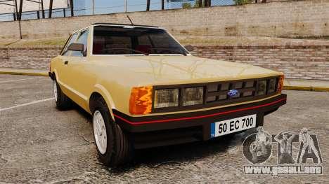 Ford Taunus GLS v2.0 para GTA 4
