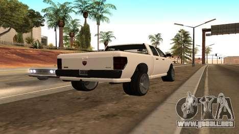 Bisonte de GTA 5 para GTA San Andreas left
