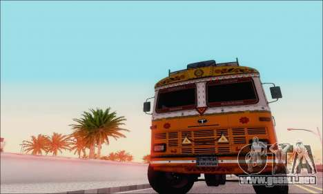 TATA 2515 para GTA San Andreas left