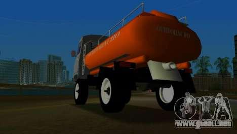 UAZ 465 camión para GTA Vice City visión correcta