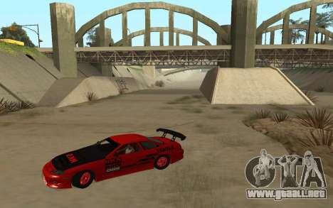 Toyota Soarer para GTA San Andreas left