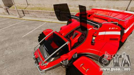 Pro Track SR2 Firetruck [ELS] para GTA motor 4