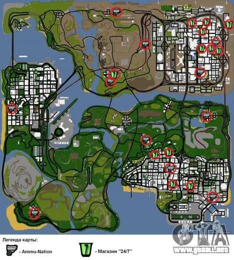Dos relacionados con Interior cambiar para GTA San Andreas séptima pantalla