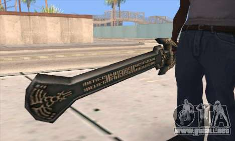 Sword of Darknut para GTA San Andreas tercera pantalla