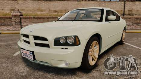 Dodge Charger RT Hemi 2007 para GTA 4