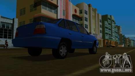 Daewoo Cielo para GTA Vice City vista lateral izquierdo