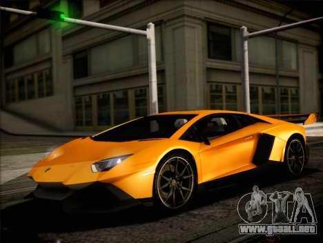 Lamborghini Aventador LP720 para la visión correcta GTA San Andreas