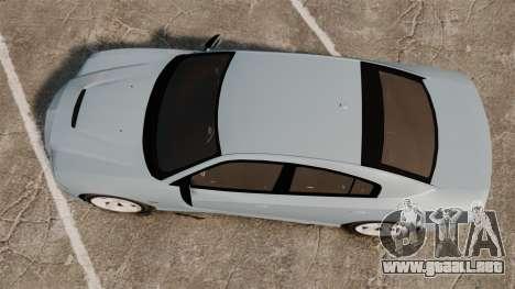 Dodge Charger 2012 para GTA 4 visión correcta