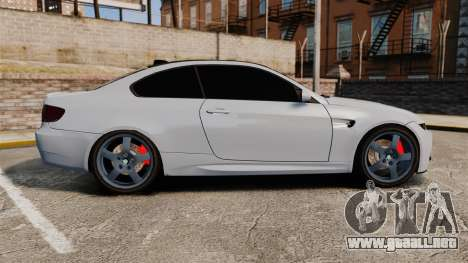 BMW M3 E92 para GTA 4 left