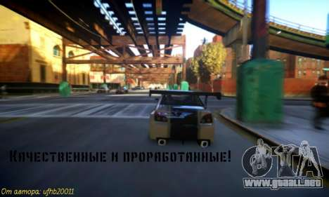 Nuevos sonidos de máquinas V 1.0 para GTA 4 segundos de pantalla