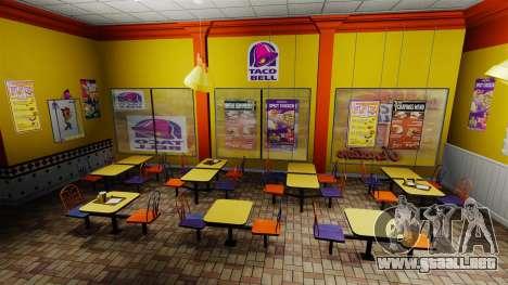 Comer McDonalds y Taco Bell para GTA 4 séptima pantalla