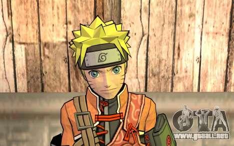 Naruto Rajdžinu para GTA San Andreas tercera pantalla
