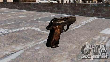 Pistola autocargable Walther PPK para GTA 4 segundos de pantalla