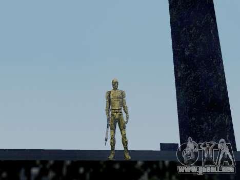 Nano-traje Coreano de Crysis para GTA San Andreas segunda pantalla