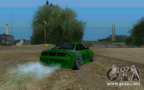 Nissan Silvia S14a para GTA San Andreas left