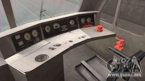 ÈP200-0001 para GTA San Andreas vista hacia atrás