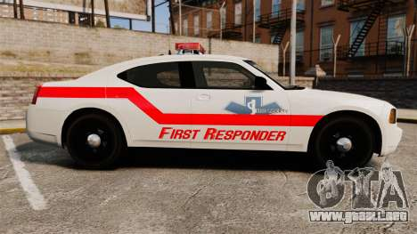 Dodge Charger First Responder [ELS] para GTA 4 left