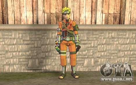 Naruto Rajdžinu para GTA San Andreas