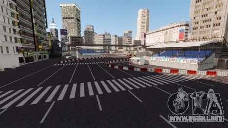 Ubicación de Shibuya para GTA 4 octavo de pantalla