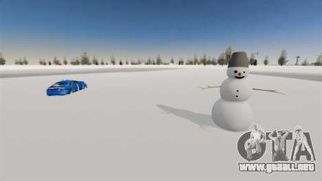 Ubicación del país de las maravillas del Ártico para GTA 4 segundos de pantalla